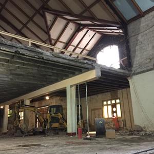 Update on construction activities