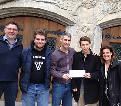 Les élèves de l'École Vanguard amassent des fonds pour la Maison St-Raphaël