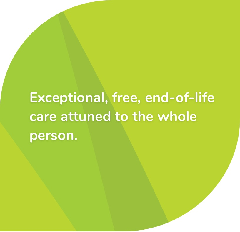 Exceptional, free, end-of-life care attuned to the whole person - St Raphael's