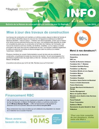 Bulletin Juin 2019 - Maison St Raphaël