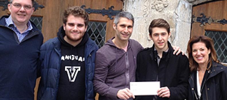 Vanguard School students raise funds for St.Raphael's