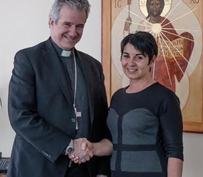 Signature d'un bail emphytéotique avec l'Archevêché de Montréal