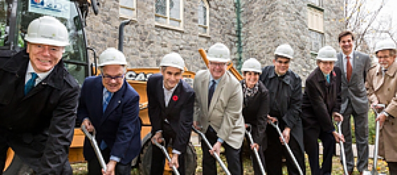 St. Raphael's Palliative Care Home and Day Centre holds a groundbreaking ceremony to officially inaugurate the start of construction
